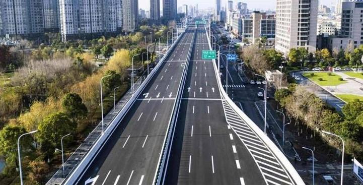 长青街快速路预计年底前建成通车