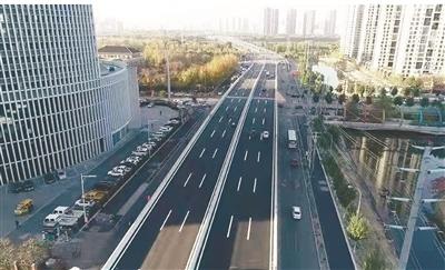 胜利大街快速路主体工程年底前完工